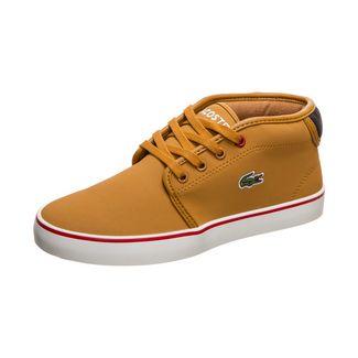Lacoste Ampthill Thermo 419 1 Sneaker Kinder hellbraun / schwarz