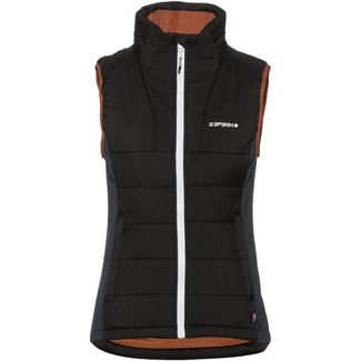 ICEPEAK Dahn Outdoorweste Damen black