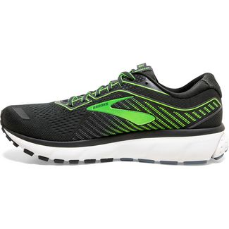 Brooks Ghost 12 Laufschuhe Herren ebony-grey-gecko