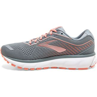 Brooks Ghost 12 Laufschuhe Damen lead-grey-desert
