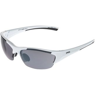 Uvex blaze III Sportbrille white black