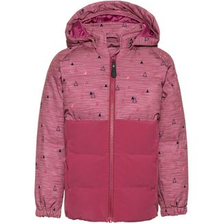 COLOR KIDS Seik Steppjacke Kinder malaga-rose