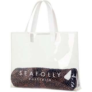 Seafolly Strandtasche Damen clear
