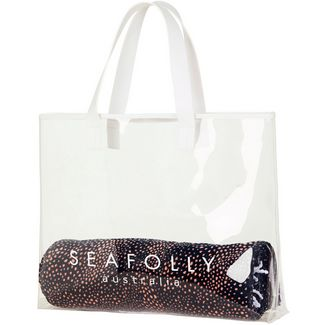 Seafolly Strandtasche Damen clear