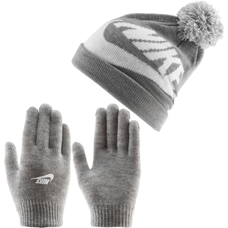 Nike Swoosh Set Mütze und Handschuhe