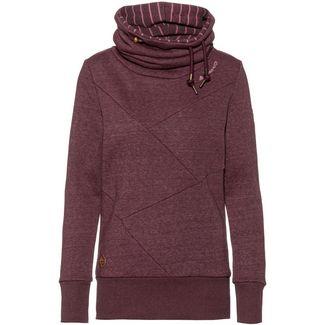 Ragwear Viola Sweatshirt Damen wine red