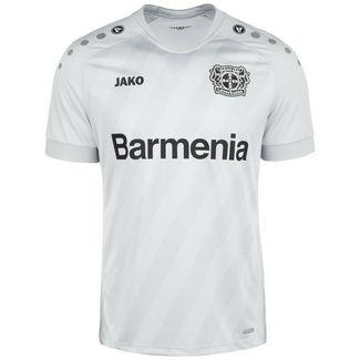 JAKO Bayer 04 Leverkusen 19/20 3rd Fußballtrikot Herren grau