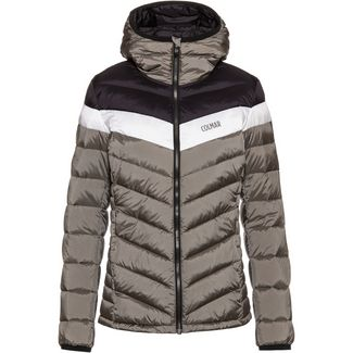 COLMAR Enigma Daunenjacke Damen jungle-black-white
