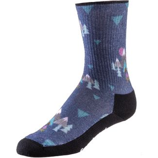 Smartwool WMS Hike Light Wandersocken Damen dark blue steel