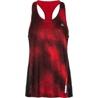 Calvin Klein Galaxy Funktionstank Damen ck black-flashing red