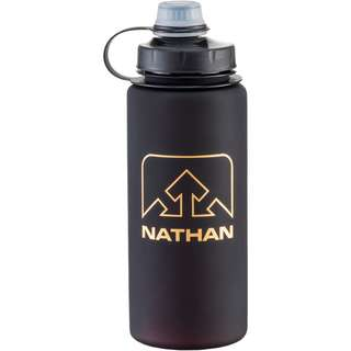 NATHAN Trinkflasche black-gold
