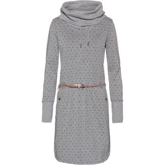 Ragwear Laurra B Langarmkleid Damen light grey