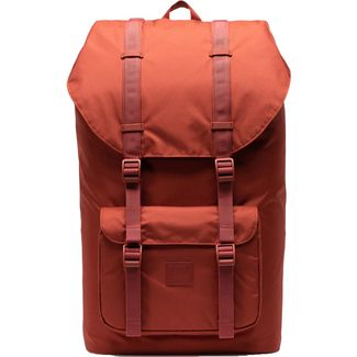 Herschel Rucksack Little America Light Daypack rot