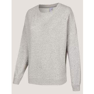 Cleptomanicx Sweatshirt Damen Heather Gray