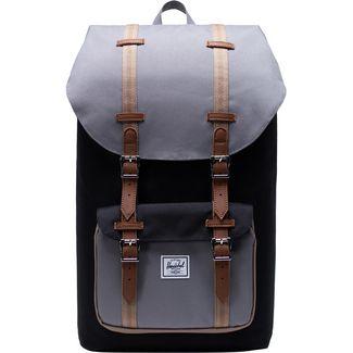Herschel Little America Daypack schwarz / grau