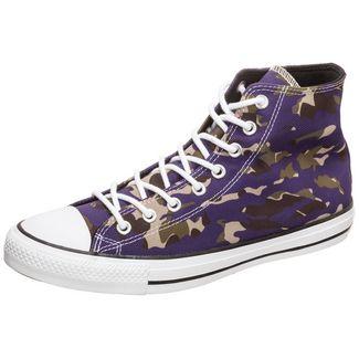 CONVERSE Chuck Taylor All Star Allover Camo Sneaker Herren lila / oliv