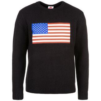 KAPPA Authentic LA Bessarty Sweatshirt Herren schwarz
