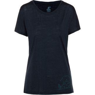 OCK Merino T-Shirt Damen navy