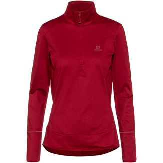 Salomon Discovery Funktionsshirt Damen rio red