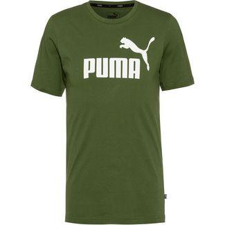 PUMA ESS Logo Tee T-Shirt Herren garden green