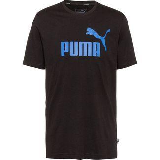 PUMA ESS Logo Tee T-Shirt Herren puma black