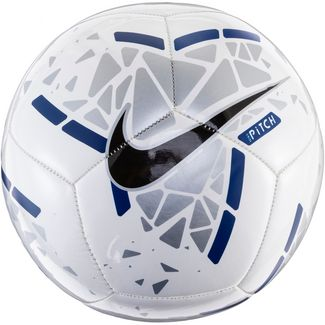 Nike NK PTCH Fußball white-silver-blue void