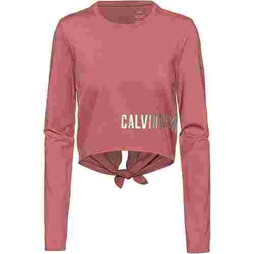 Calvin Klein Graphic Funktionsshirt Damen dusty pink
