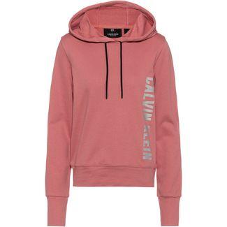 Calvin Klein Graphic Hoodie Damen dusty pink