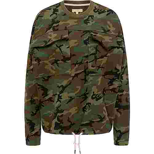 MYMO Sweatshirt Damen camouflage aop