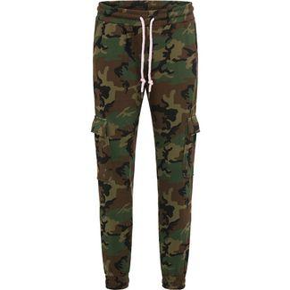 MYMO Sweathose Damen camouflage aop