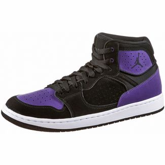 Nike Jordan Access Basketballschuhe Herren black-black-court purple