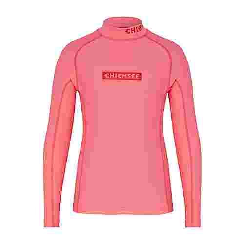 Chiemsee Surflycra Kids Surf Shirt Neon Pink