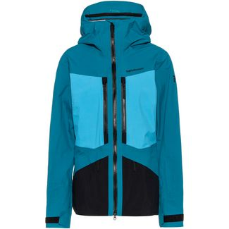 Peak Performance Gravity Hardshelljacke Damen deep aqua