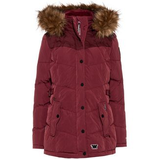 Khujo Winsen4 Steppjacke Damen peached dark red
