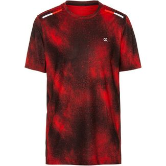 Calvin Klein T-Shirt Herren flashing red splatter