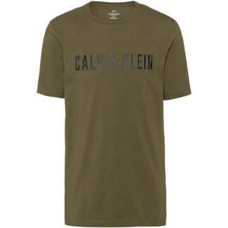 Calvin Klein T-Shirt Herren grape leaf-ck black