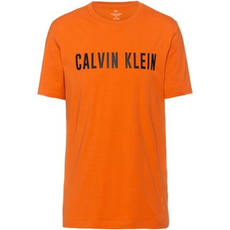 Calvin Klein T-Shirt Herren burnt orange-ck black