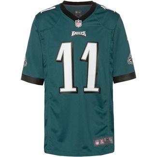 Nike Carson Wentz Philadelphia Eagles American Football Trikot Herren sport teal-black