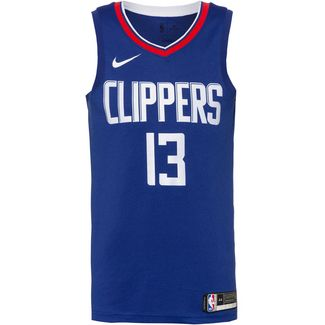 Nike Paul George Los Angeles Clippers Basketballtrikot Herren rush blue-white