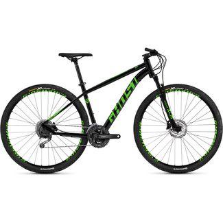 Ghost Kato 4.9 AL U 29 Zoll Mountainbike MTB MTB Hardtail night black / riot green