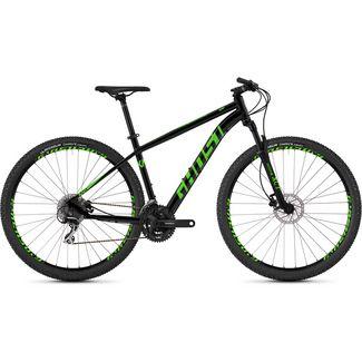 Ghost Kato 2.9 AL U 29 Zoll Mountainbike MTB MTB Hardtail night black / riot green