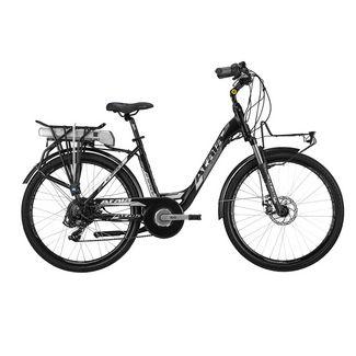 Atala E-Space 400 Lady 26 Zoll E-Citybike Rad E-Bike Damen schwarz/weiß matt