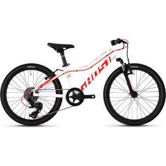 Ghost Lanao 2.0 AL W 20 Zoll Mountainbike MTB Dirt Bike Kinder star white/neon red/juice orange