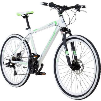 Galano Toxic 26 Zoll Mountainbike Hardtail MTB MTB Hardtail weiß/grün