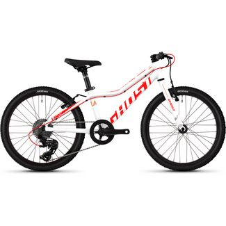 Ghost Lanao R1.0 AL W 20 Zoll Mountainbike MTB Dirt Bike Kinder star white/neon red/juice orange