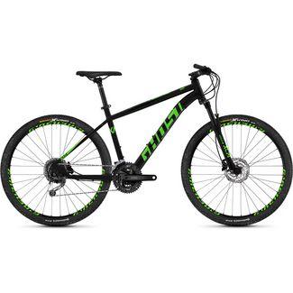 "Ghost Kato 4.7 AL U 27,5"" Mountainbike 650B MTB Hardtail night black / riot green"