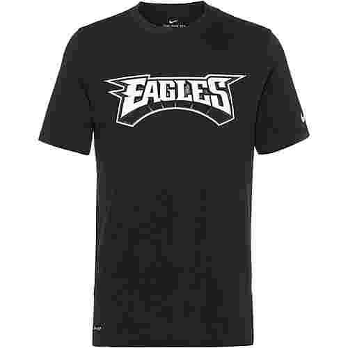 Nike Philadelphia Eagles T-Shirt Herren black