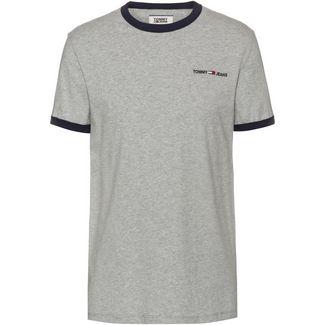 Tommy Hilfiger T-Shirt Herren lt grey htr-black iris