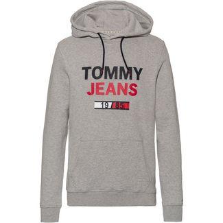 Tommy Jeans Hoodie Herren lt grey htr