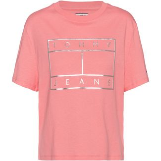 Tommy Jeans T-Shirt Damen pink icing